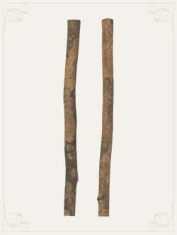 正倉院宝物「椿杖」