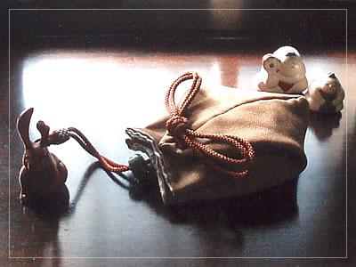 火打ち袋の香袋