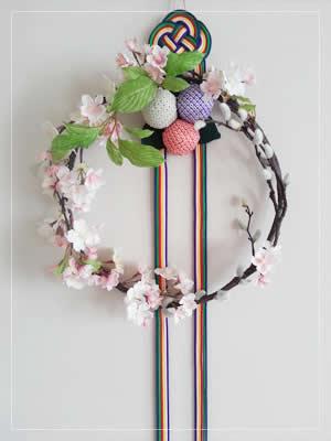 有職造花・桜の平薬(ひらくす)